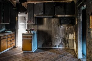 smoke damage restoration - fire